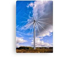 Scottish Wind! Canvas Print