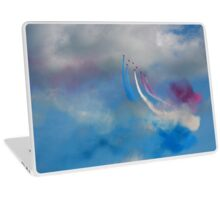 The Red Arrows and a coloured sky Laptop Skin