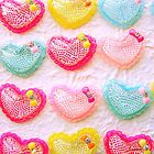 Heart Cabochons 20 Lacy by souzoucreations