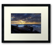 The Master Waits Framed Print