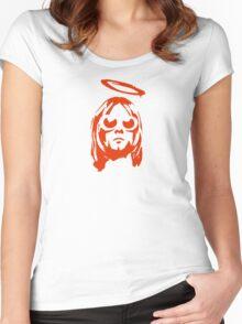 GRUNGE DESIGN 4 Women's Fitted Scoop T-Shirt