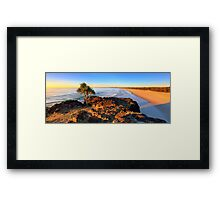 Kingscliff Beach Sunrise Framed Print