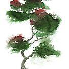 Little Zen Tree 378 by Sean Seal