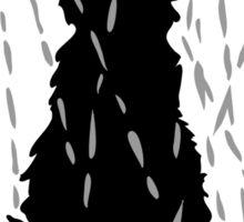 Chat sous la pluie | Cat in the rain Sticker