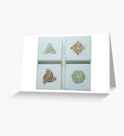 Gilded miniatures I Greeting Card