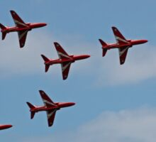 The Red Arrows perfect arrow Sticker