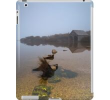 Morning Fog at the Boat Shed iPad Case/Skin
