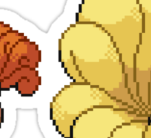 Vulpix and Ninetales Sticker