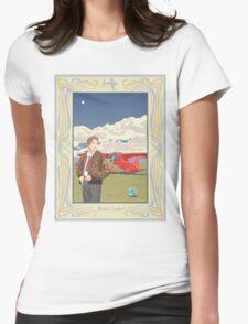Amelia Earhart - Pioneer Aviator Womens Fitted T-Shirt
