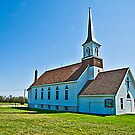 The Nathanael Volmer Lutheran Church, Dagmar, Montana, USA by Bryan D. Spellman
