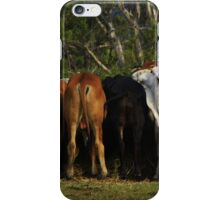 A spoof on Something (challenge) iPhone Case/Skin