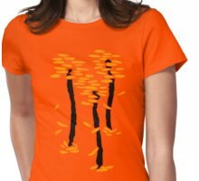 Autumn trees | Arbres d'automne Womens Fitted T-Shirt