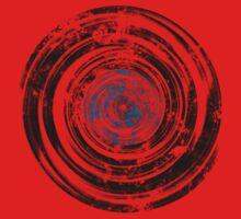 Old Vinyl Records Urban Grunge V2 One Piece - Short Sleeve