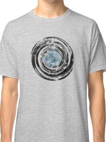 Old Vinyl Records Urban Grunge V2 Classic T-Shirt