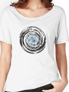 Old Vinyl Records Urban Grunge V2 Women's Relaxed Fit T-Shirt