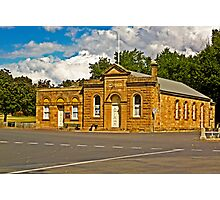 Ross Community Hall Photographic Print