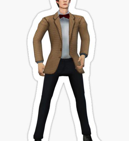 Dr Who Matt Smith Sticker