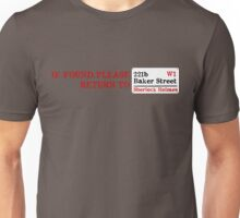 Lost Sherlock? Unisex T-Shirt