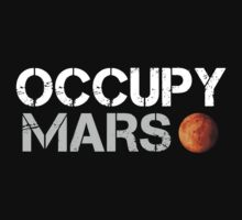 Occupy Mars Black by scubhtee