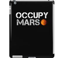 Occupy Mars Black iPad Case/Skin