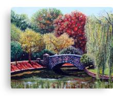'The Bridge at Freedom Park' Canvas Print