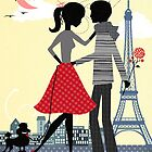 Paris mon amour by Elisandra