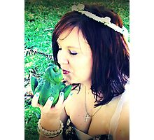 ~ Beauty and the Frog ~ Photographic Print
