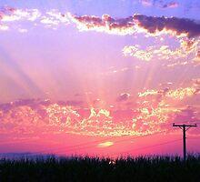 Sunset Streaks by Ogre