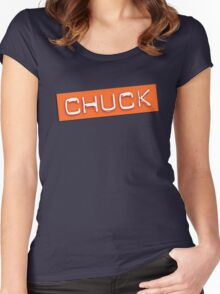 Chuck! Women's Fitted Scoop T-Shirt