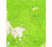 USGS Topo Map Oregon Broken Top 282280 1959 62500 by wetdryvac