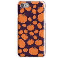 Purple pumpkin patch iPhone Case/Skin