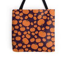Purple pumpkin patch Tote Bag