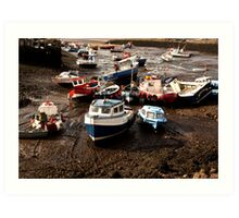 Awaiting High Tide Art Print