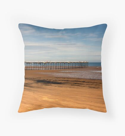 Picnic on the Beach Throw Pillow
