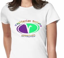 Vagitarian Society: Approved Womens Fitted T-Shirt