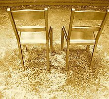 Two Chairs by Valerie Rosen