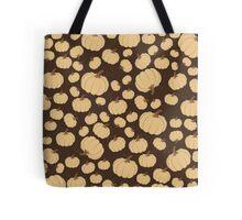 Brown Pumpkin Patch Tote Bag