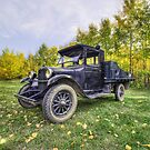 Antique Truck by Myron Watamaniuk