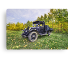 Antique Truck Canvas Print