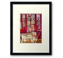 Inner Critic, Inner Ally and ME Framed Print