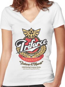 Special Potion Women's Fitted V-Neck T-Shirt