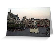 """Streetscape - Harskamp, Gelderland, Netherlands"" Greeting Card"