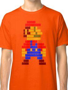 8-bit brick mario  Classic T-Shirt