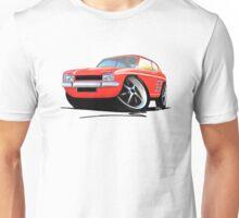 Ford Capri (Mk1) Red Unisex T-Shirt