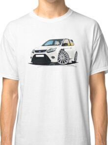 Ford Focus RS (Mk2) White Classic T-Shirt