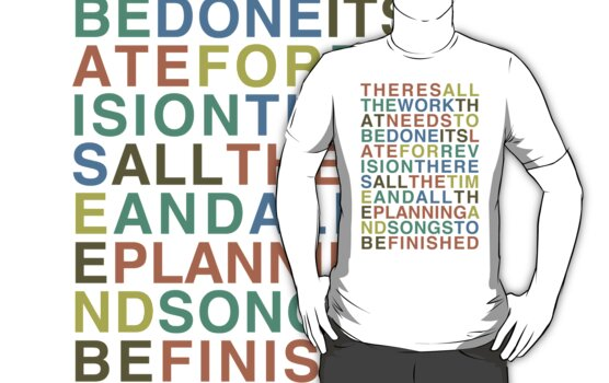 Someone Great - LCD Soundsystem T-Shirt by JReading