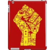 viva the gaming revolution iPad Case/Skin