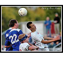 Center vs Carmal Soccer 1 Photographic Print