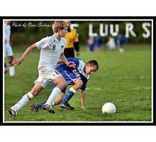 Center vs Carmal Soccer 6 Photographic Print