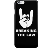 Heavy emblem fingers iPhone Case/Skin